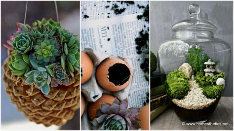 Welcome Spring With 20 Creative DIY Garden Projects