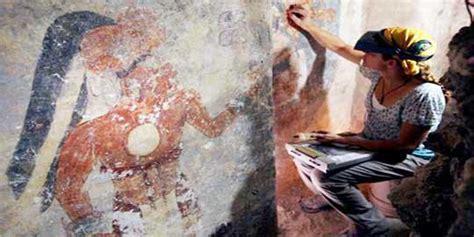 film kiamat suku maya kamar dan lukisan suku maya kuno 2000 tahun lalu ditemukan
