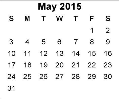 may 2015 calendar printable pdf template excel doc 15 best images about may 2015 calendar on pinterest