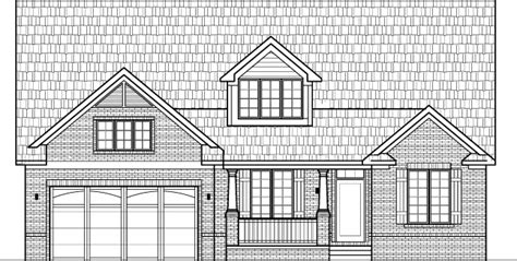 drawing of a house with garage small brick house floor plans drawings with garage 2 bedroom 1 story