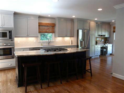 dove grey kitchen cabinets dove gray kitchen lovette construction transitional