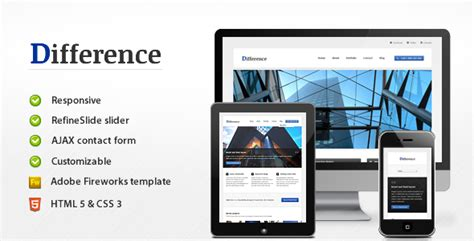 difference responsive business template jogjafile