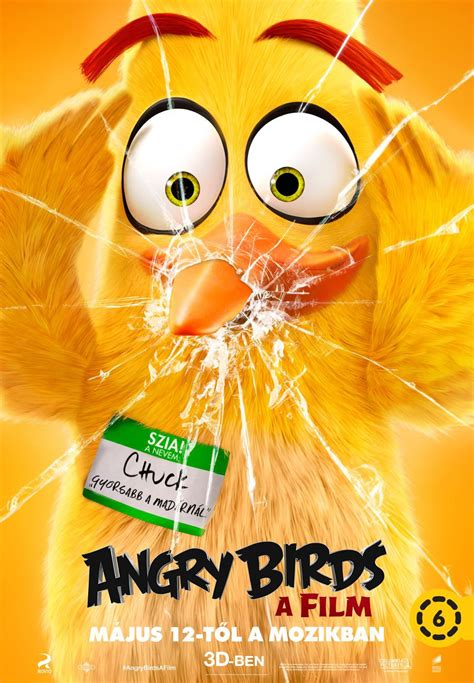 angry birds movie poster 18 of 27 imp awards angry birds 6 of 27 extra large movie poster image