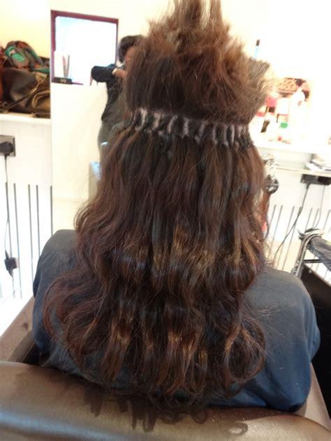 brazilian knots styles brazilian knot hair extensions in progress kk hair