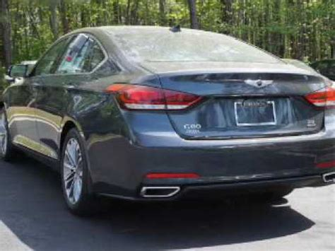 johnson hyundai of cary 2017 genesis g80 for sale in cary nc
