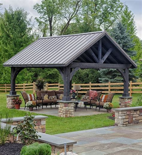 wonderful concept of outdoor pavilion plan with nice view 131 best timberframing images on pinterest timber frames