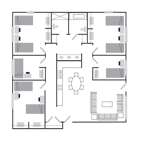 student accommodation floor plans student housing