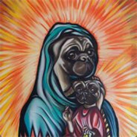 jesus pug pug jesus s profile backpack tf