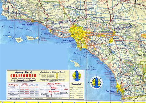 los angeles on map of usa maps of the usa the united states of america map