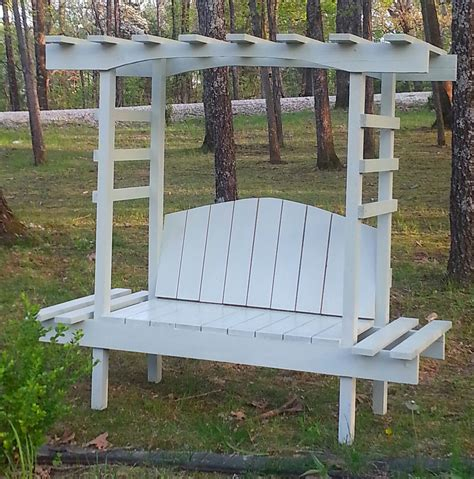 arbor with bench ana white childrens garden arbor bench diy projects