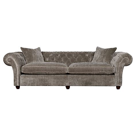 john lewis velvet sofa buy spirit duke grand sofa sloane velvet white gold