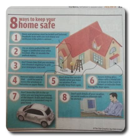 how to keep your home safe from burglars when away during