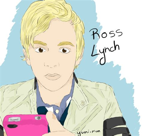 how to draw ross lynch