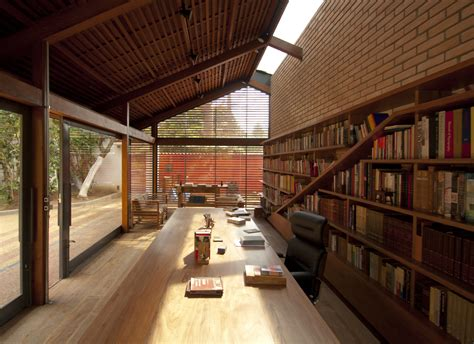 cotia library garden ipea archdaily