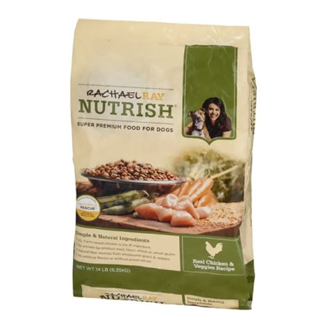 nutrish food rachael nutrish food real chicken veggies recipe 14 lb grocery