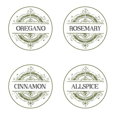 spice label templates 5 best images of vintage spice labels free printable
