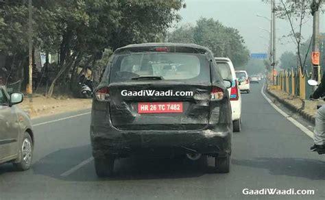 Lu Projector Mobil Ertiga new maruti suzuki ertiga spotted testing in india again