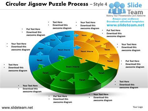 Cycle Circular Round Jigsaw Maze Piece Jigsaw Puzzle Strategy Design Jigsaw Strategy Template