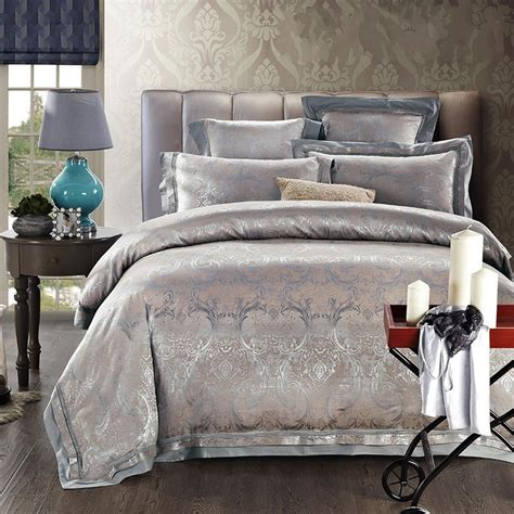 jacquard comforter sets aliexpress com buy satin silk jacquard bedding set home
