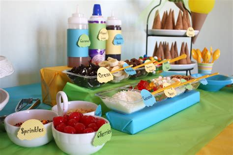 sundae bar topping ideas centerpieces archives events to celebrate