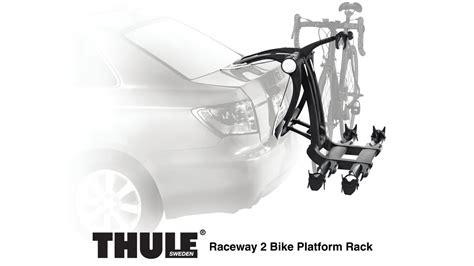 Installing Thule Bike Rack by Thule Raceway Bicycle Platform Rack Install