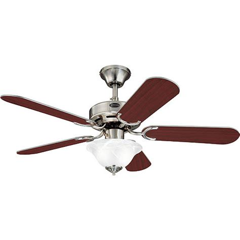 westinghouse richboro ceiling fan and light brushed