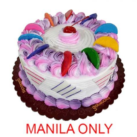 makulay rainbow cake  goldilocks