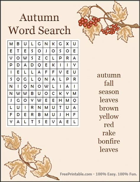 printable word search autumn classroom word searches on pinterest word search