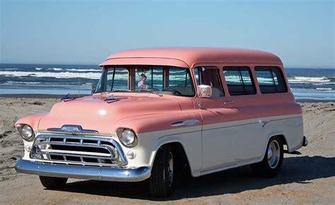 1957 chevrolet suburban photograph by richard gallant