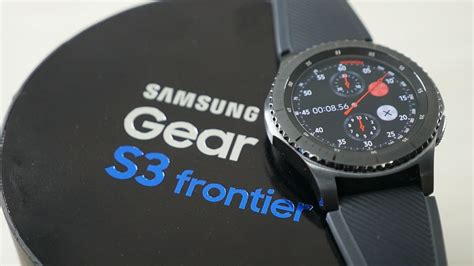 Samsung Frontier S3 Samsung Gear S3 Frontier Unboxing Overview