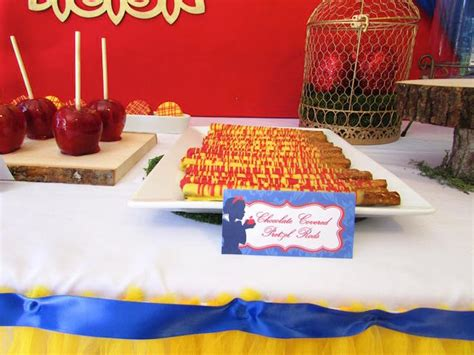 karas party ideas snow white themed birthday party