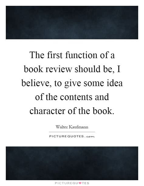 book review quot be your the function of a book review should be i believe
