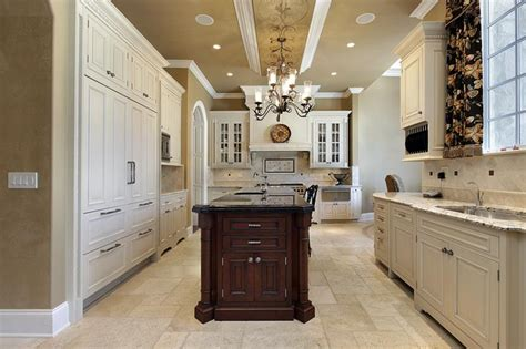 22 Stunning Kitchens With Tile Floors