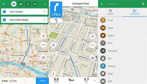maps me map with navigation and directions android best android navigation and route planner apps androidpit