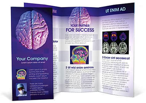 Brain Brochure Template & Design ID 0000000359