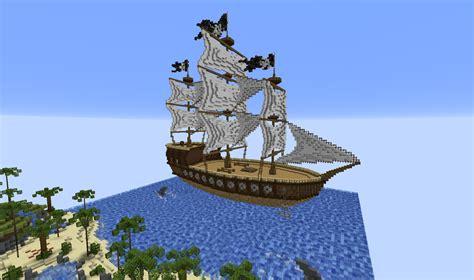 minecraft boat games minecraft build pirate ship the reina cubecraft games