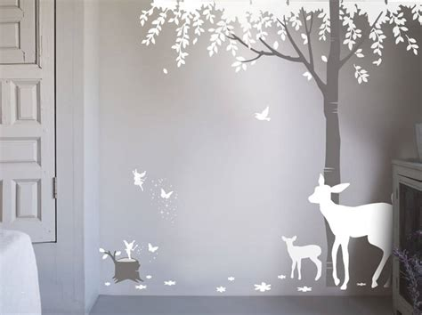 forest wall stickers magical forest wall sticker by bambizi notonthehighstreet
