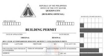 City Of Building Permit How To Get A Building Permit In The Philippines