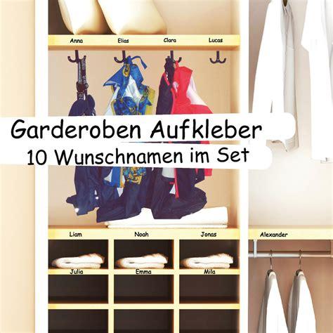 Aufkleber Mit Namen Für Kita by Garderobe Aufkleber Namen Wandtattoo