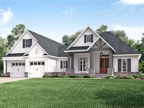 farm style houses eplans ranch house plan updated craftsman ranch 2073