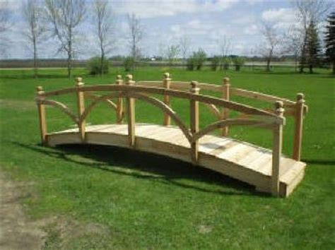 yard bridges backyard bridges garden bridges pond bridges wooden