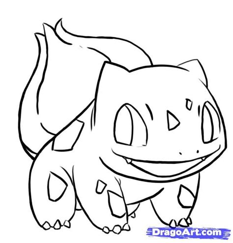 pokemon coloring pages of bulbasaur easy bulbasaur how to draw bulbasaur from pokemon step 8