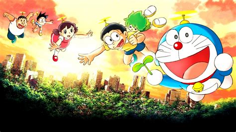 wallpaper of doraemon in hd doraemon hd wallpaper