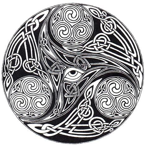 Celtic Eye Knot By Ppunker On Deviantart Celtic Designs