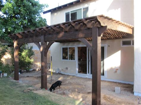 attached pergola kits 25 homeowners diy arbors pergolas pavilions deck swing western timber frame