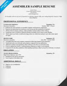 Assembly Resume by Mechanical Engineering Technician Mechanical Free Engine Image For User Manual