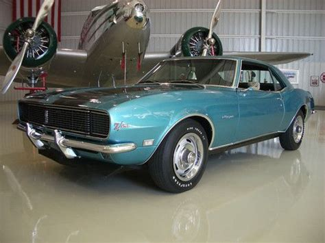 1968 chevrolet camaro z28 rs coupe 302 295 hp 4 speed mecum purchase new pristine 1968 z28 rs 302 cross ram 994 point