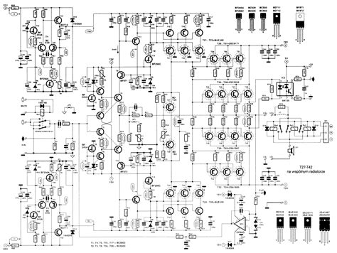 Power Lifier Wisdom power lifier 2000 watt schematic design audio