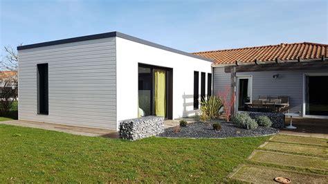 Maison Avec Extension by Extension Bois Agrandissement Maison 44 Wood 233 Al
