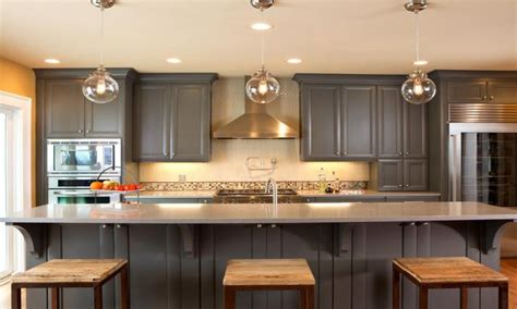 gray painted kitchen cabinets kitchen cabinet paint color